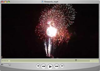 Fireworks in HD